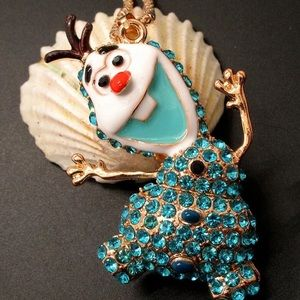 NWT FROZEN OLAF NECKLACE
